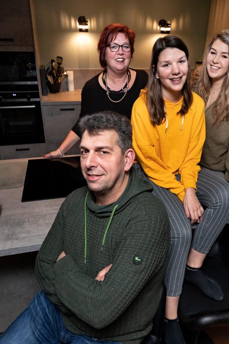 Vier koorjubilarissen in één Helmonds gezin