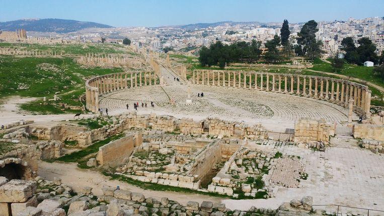 Beeld ter illustratie, Jerash in Jordanië.