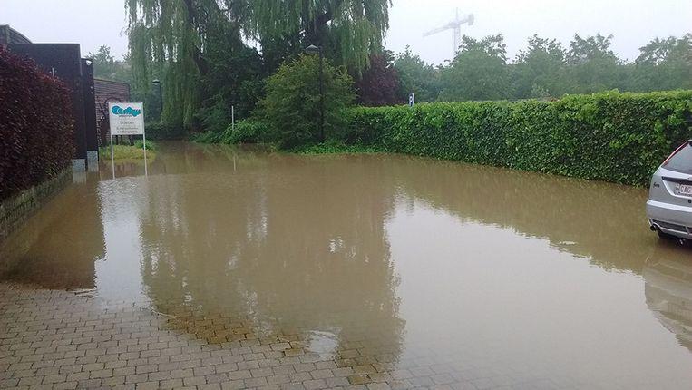In Geluwe sloot vanochtend een crèche de deuren door wateroverlast.
