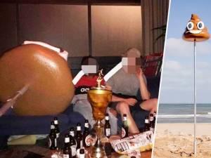 Des étudiants volent le zeemoji excrément d'Ostende et se trahissent sur Instagram