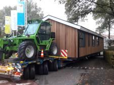Mega-transport in Hoge Hexel gaat niet helemaal goed
