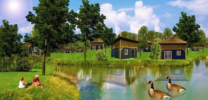 Pukkemuk wil zestig recreatiewoningen op het terrein realiseren.