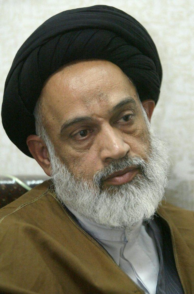 Grootayatollah Kazim al-Haeri Beeld afp