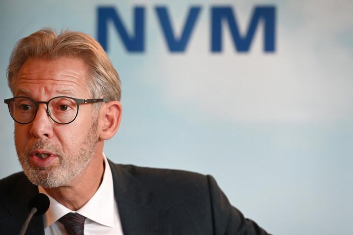 Archieffoto: Onno Hoes, voorzitter van de Nederlandse Vereniging van Makelaars (NVM).