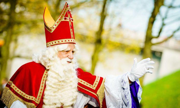 Sinterklaas tijdens de intocht vorig jaar in Nijmegen.