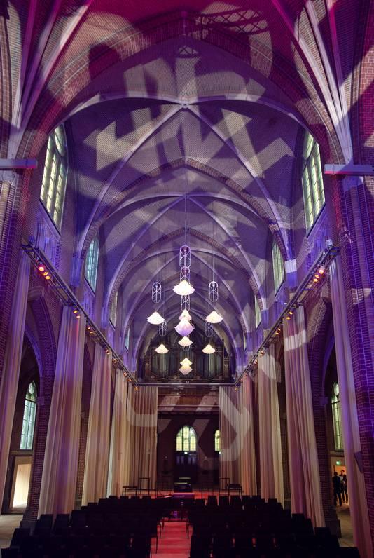 De heringerichte Paterskerk in Eindhoven, als ceremoniehuis nu onderdeel van DOMUSDELA, het voormalige Mariënhage-complex.