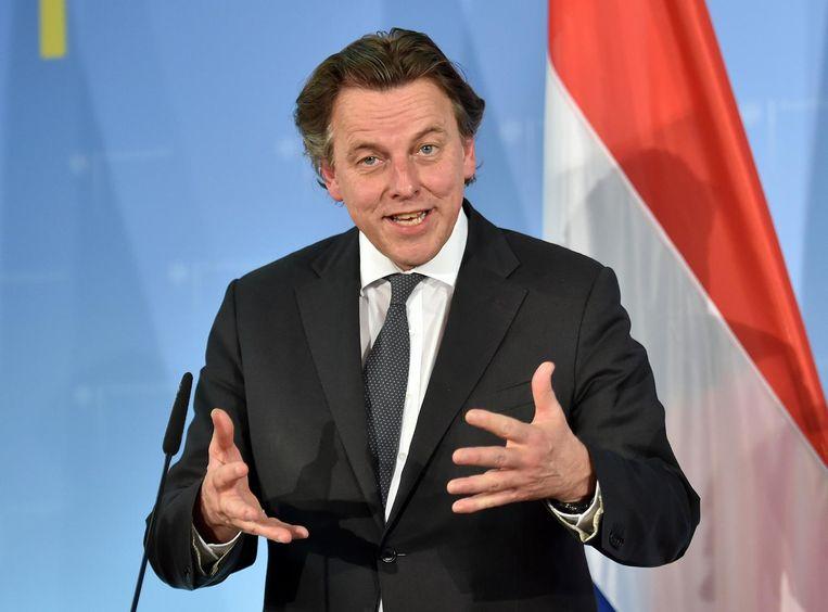 Bert Koenders, minister van Buitenlandse Zaken Beeld AP