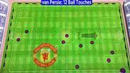"""""""Van Persie raakte  de bal 12 keer aan... 12 keer! Waarvan 3 corners!"""""""