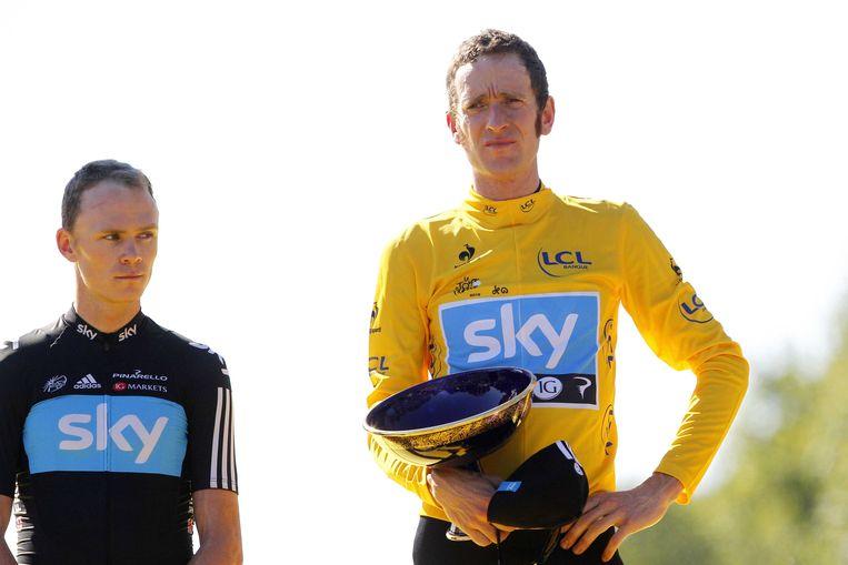 Wiggins werd in 2012 de eerste Britse Tourwinnaar.
