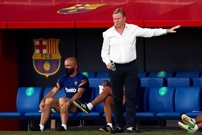 Ronald Koeman als coach van FC Barcelona, waar hij een goede start kent.