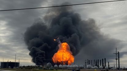 Evacuatie van dorp in Texas na tweede zware explosie in chemische fabriek