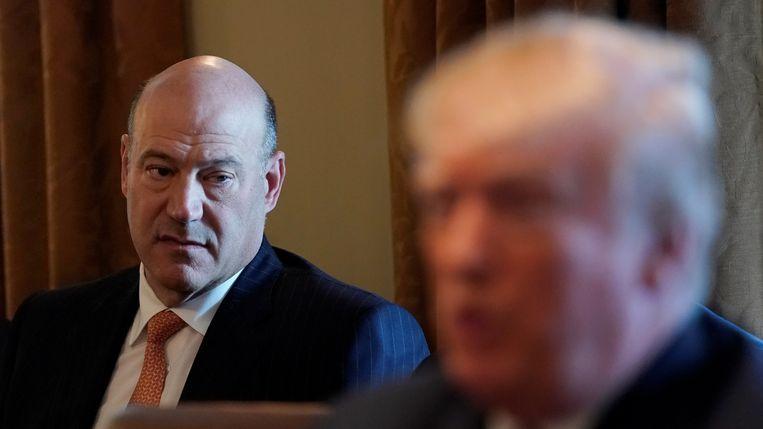 Gary Cohn, begin deze maand in het Witte Huis.