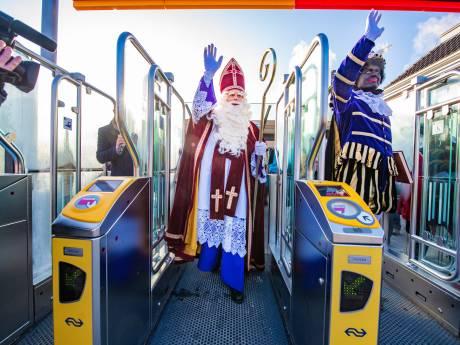 Na afschaffen zwarte piet nóg trendbreuk nationale intocht in Apeldoorn: Sinterklaas komt met trein