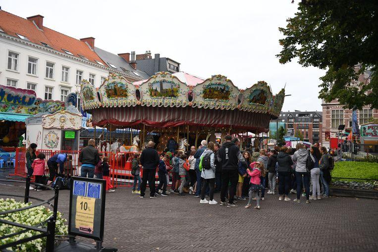 Kinderdag Arthur Dewit is een traditie op de kermis in Leuven.