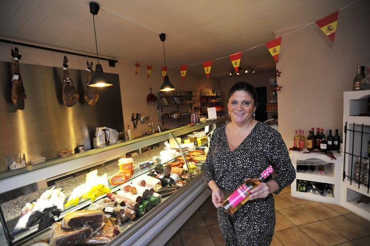 Dolores Ortiz, uitbaatster van een Spaanse delicatessenzaak in Vilvoorde