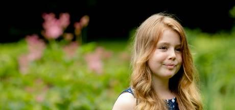 Prinses Alexia is vanaf vandaag brugklasser