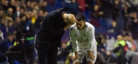 Eden Hazard souffre d'une fissure du péroné droit