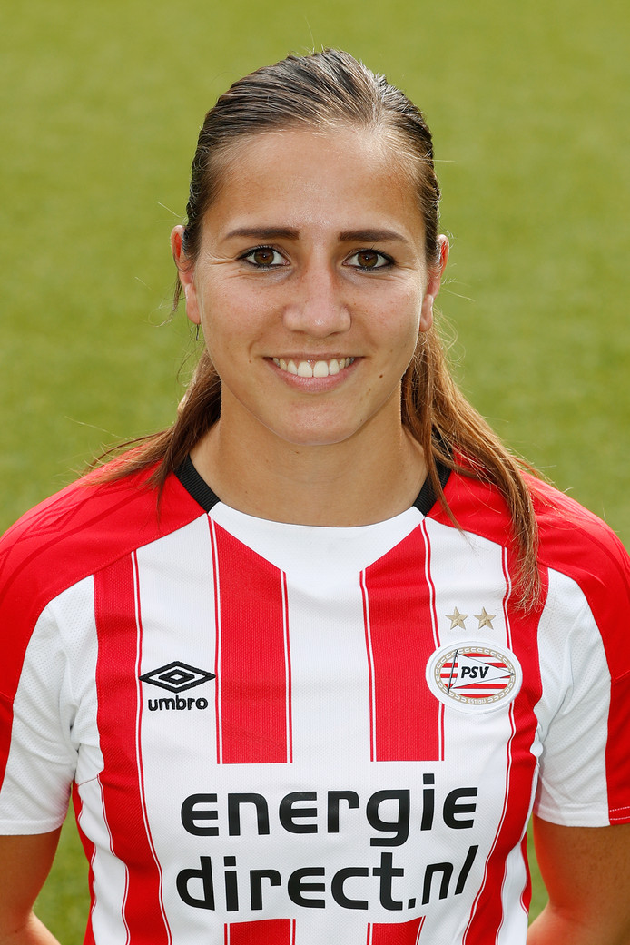 Vanity Lewerissa, Oranje-international PSV Vrouwen 2017-2018.