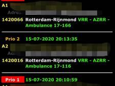 Adressen van spoedgevallen op straat door datalek bij Veiligheidsregio