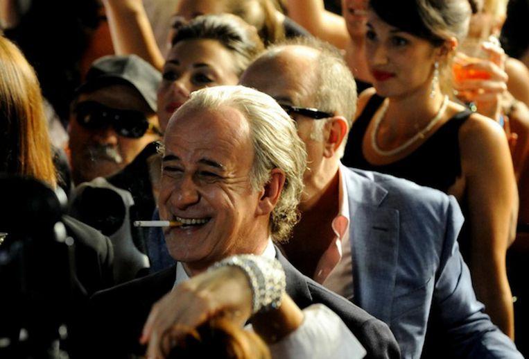 De Italiaanse acteur Toni Servillo speelt de 65-jarige journalist Jep Gambardella in La grande bellezza van regisseur Paolo Sorrentino. Beeld