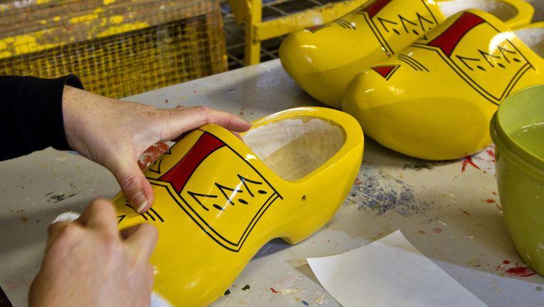 De klompenfabriek Traa in Liempde. © ANP Beeld