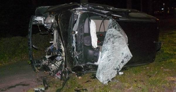 Joyridende tieners gewond bij eenzijdig ongeluk in Almelo.