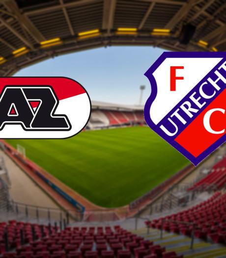 AZ - FC Utrecht