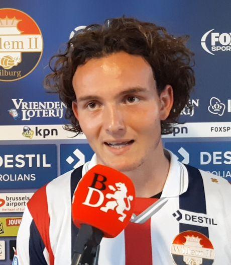 Van den Avert: Afgeschreven bij NAC, bij Willem II meteen minuten in de hoofdmacht