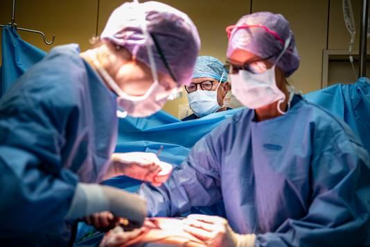 Prostaatoperatie in het Jeroen Bosch Ziekenhuis.