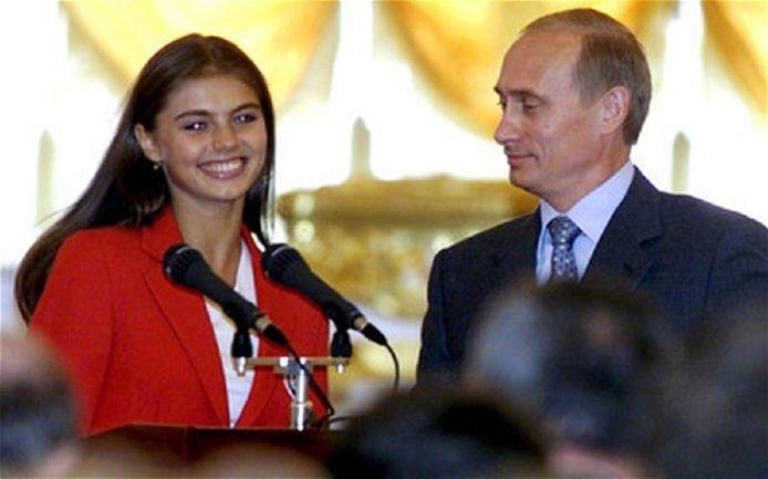 Vladimir Poutine et Alina Kabaeva.