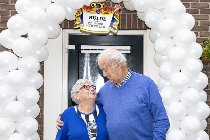 De 85-jarige Arie en de 86-jarige Hanna Leppink-Breukink.