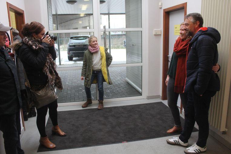 Tom Waes en Griet Huygens brengen bezoek aan Technigo.