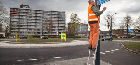 Veelbesproken rotonde in Heusdenhout ligt er dan toch in: wethouder blij, wijkraad wacht af