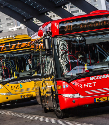 Waarom hebben stadsbussen geen blauw kenteken?