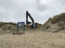 Schouwen-Duiveland herstelt de stormschade op de stranden