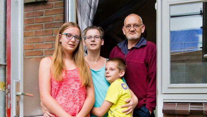 De familie Hendriks.