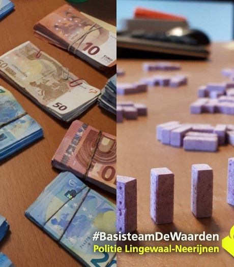 Politie stuit op 1.400 pillen, wapens en hennepkwekerij; bewoner opgepakt