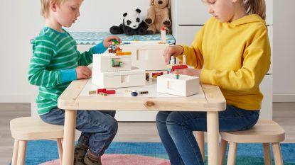 Hier is ze: de eerste collectie van IKEA en LEGO