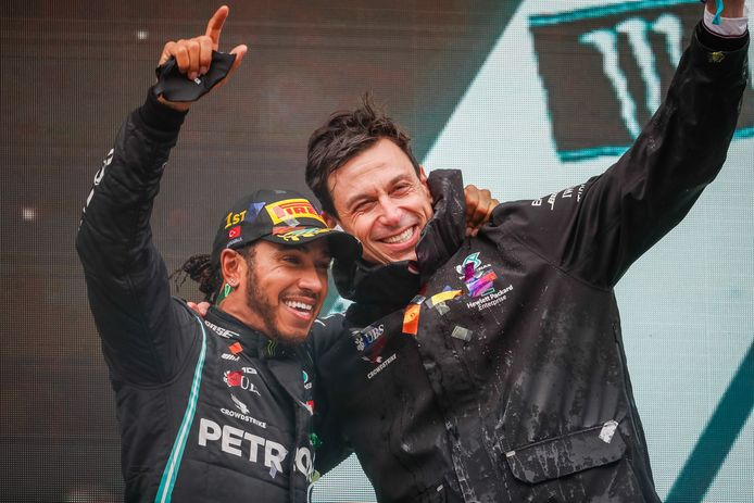 Hamilton en Wolff.