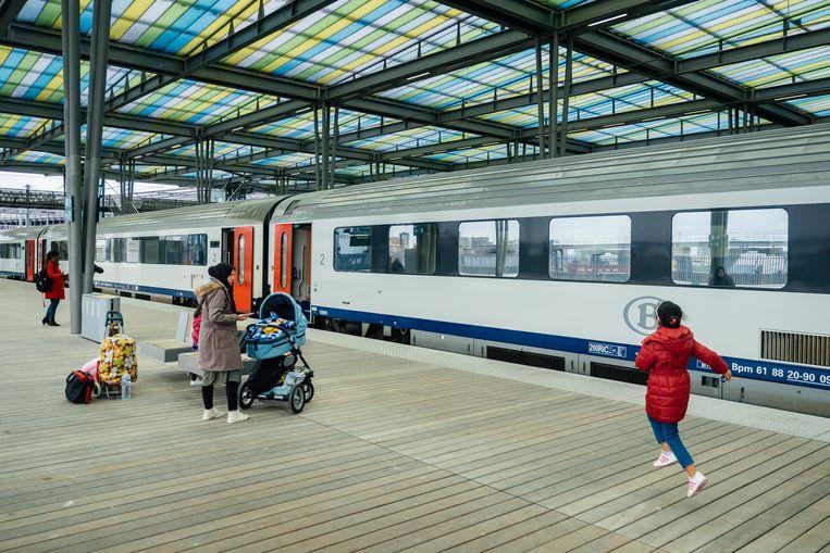 Archieffoto. Het station van Oostende.