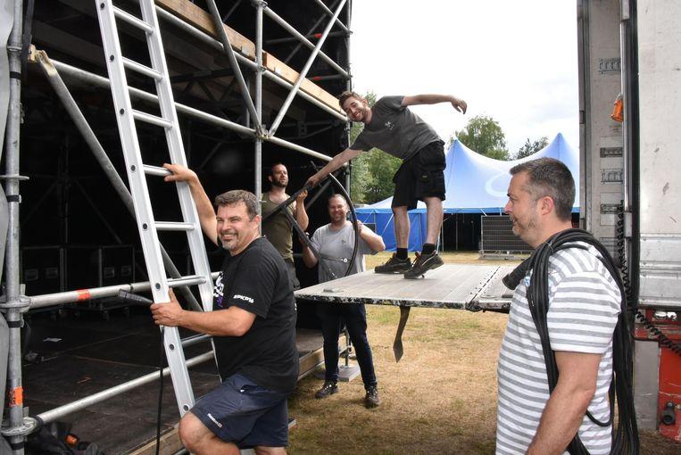 400 vrijwilligers werken zich uit de naad om het festivalweekend goed te laten verlopen.