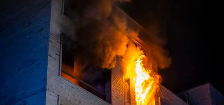 Vrouw (28) opgepakt voor stichten brand appartementencomplex Eindhoven