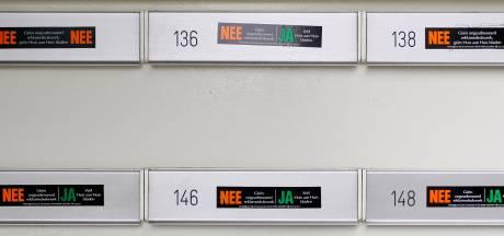 Alleen met speciale sticker nog folders in de brievenbus