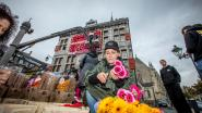 Bilzense stadhuis wordt bloemenkunstwerk