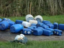 Mogelijk drugsafval gedumpt langs Drielsedijk in natuurgebied Meinerswijk