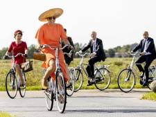 Koning Willem-Alexander en koningin Máxima op bezoek in zuidoosthoek van Friesland