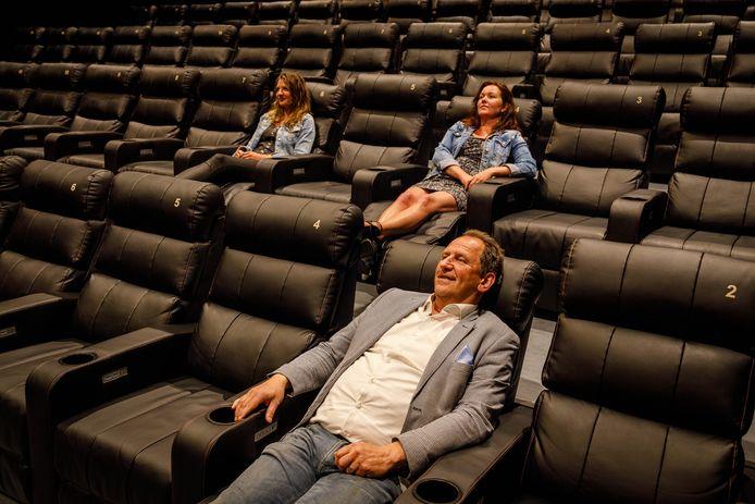 """Albert Jan Vos van bioscoop Luxor Theater Meppel ,,Die anderhalve meter is bij ons niet zo'n probleem"""""""