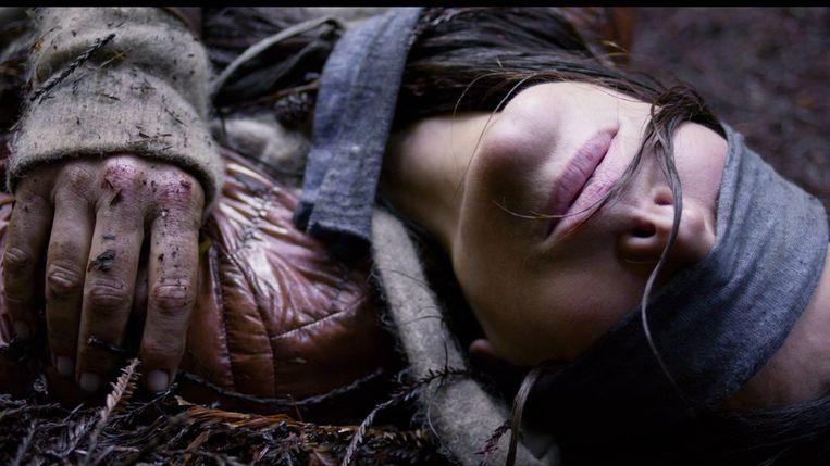 Sandra Bullock in Bird Box van Susanne Bier. Beeld