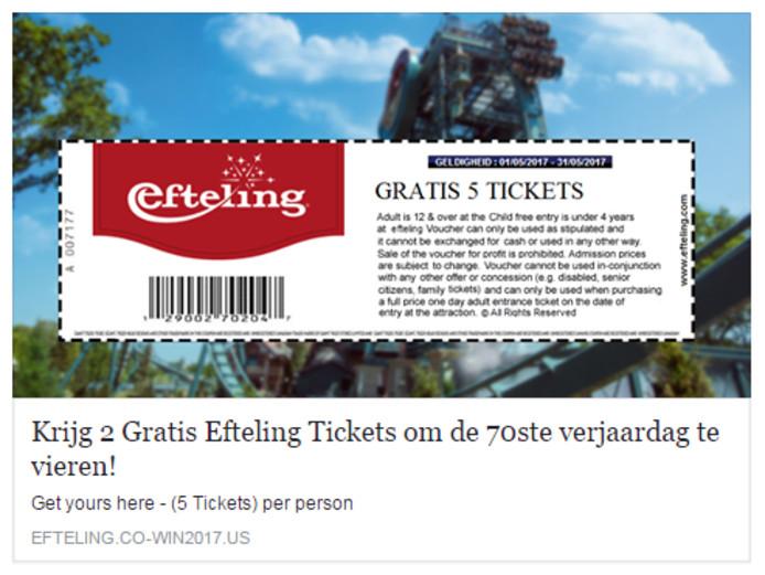Efteling Klm En Walibi Balen Van Nepactie Voor Gratis Tickets Op