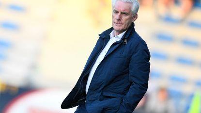 Er komt geen eind aan de stoelendans bij KV Oostende, Hugo Broos gooit na 14 maanden de handdoek